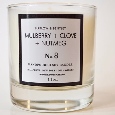 No. 8 Mulberry, Clove + Nutmeg