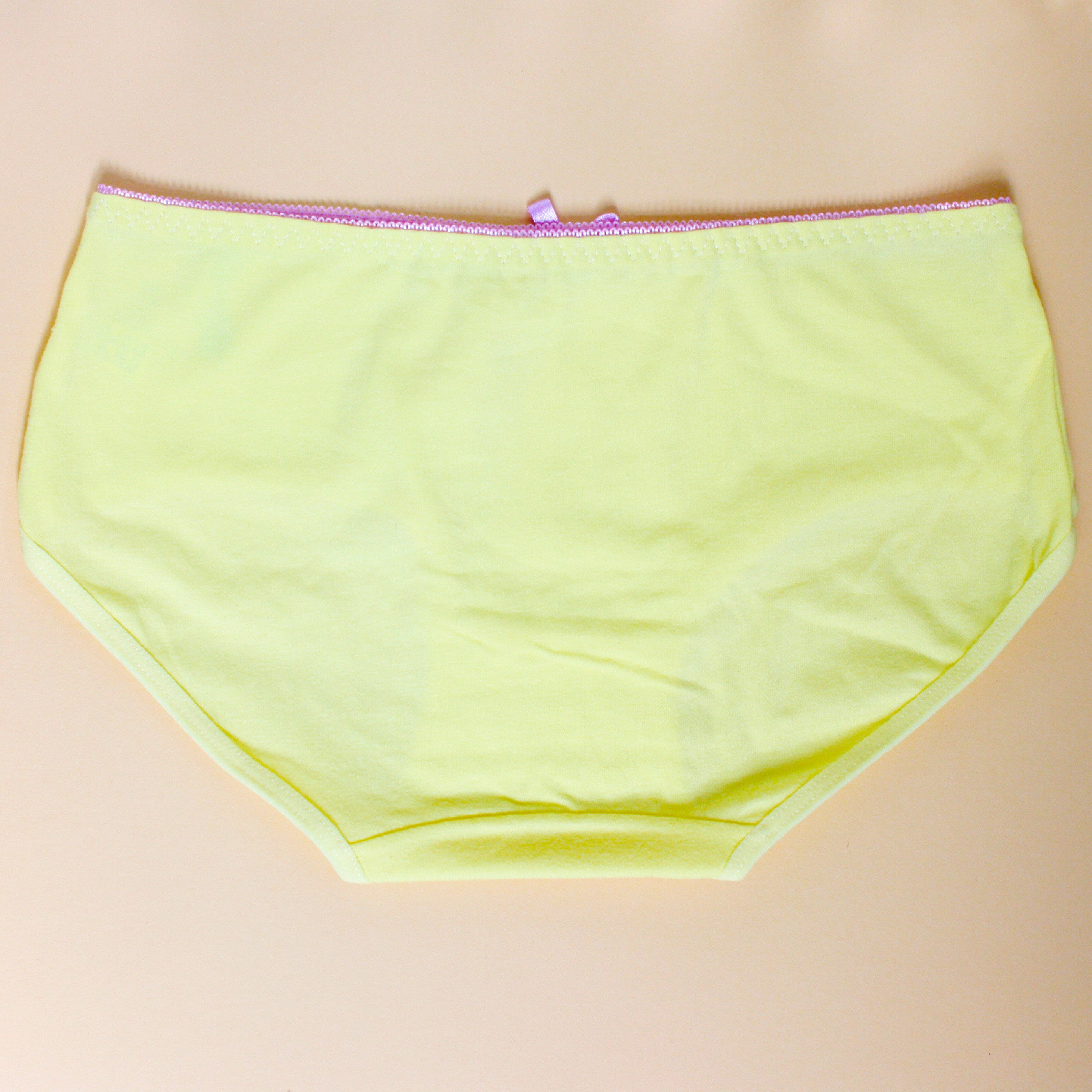 uk availability newest collection half off Pastel yellow panties