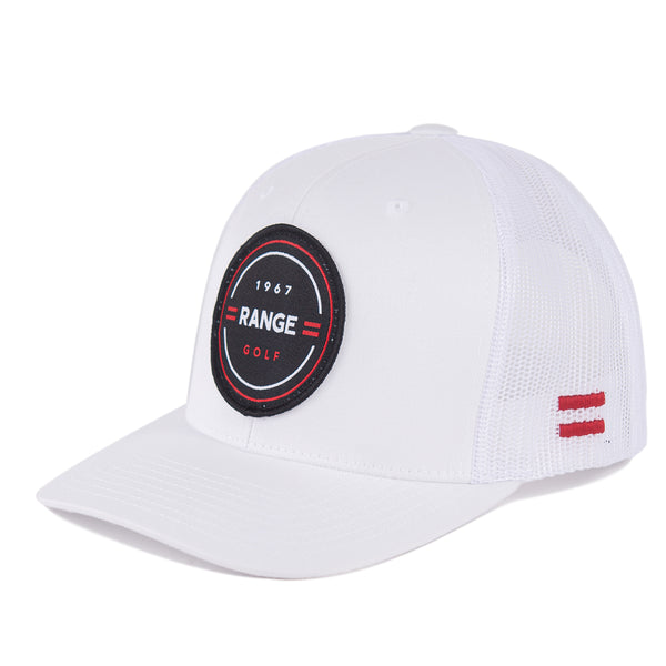 THE JAMES | WHITE GOLF HAT