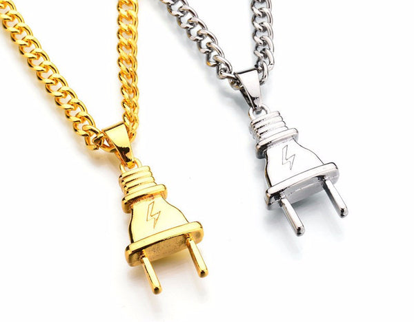 New Hot Plug Pendant and Chain