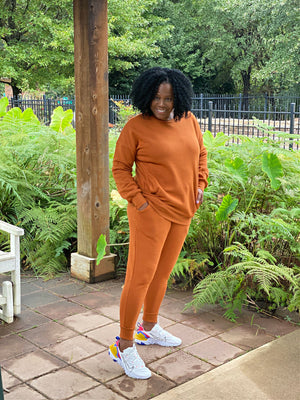 Perfectly Cozy Sweatsuit Set