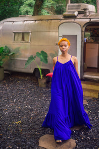 Rideau Royal Blue Maxi Dress