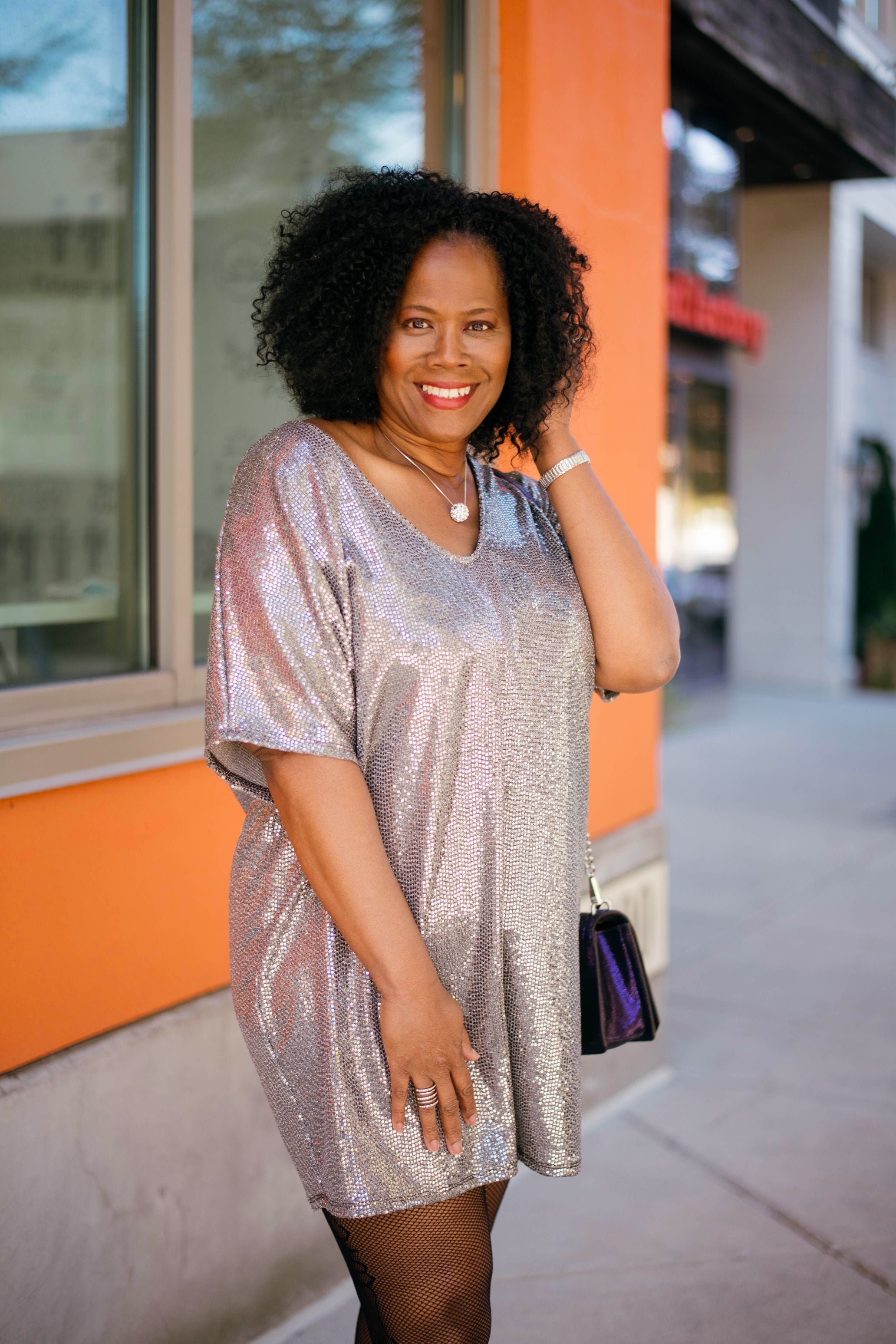 All That Glitter's Tunic Dress