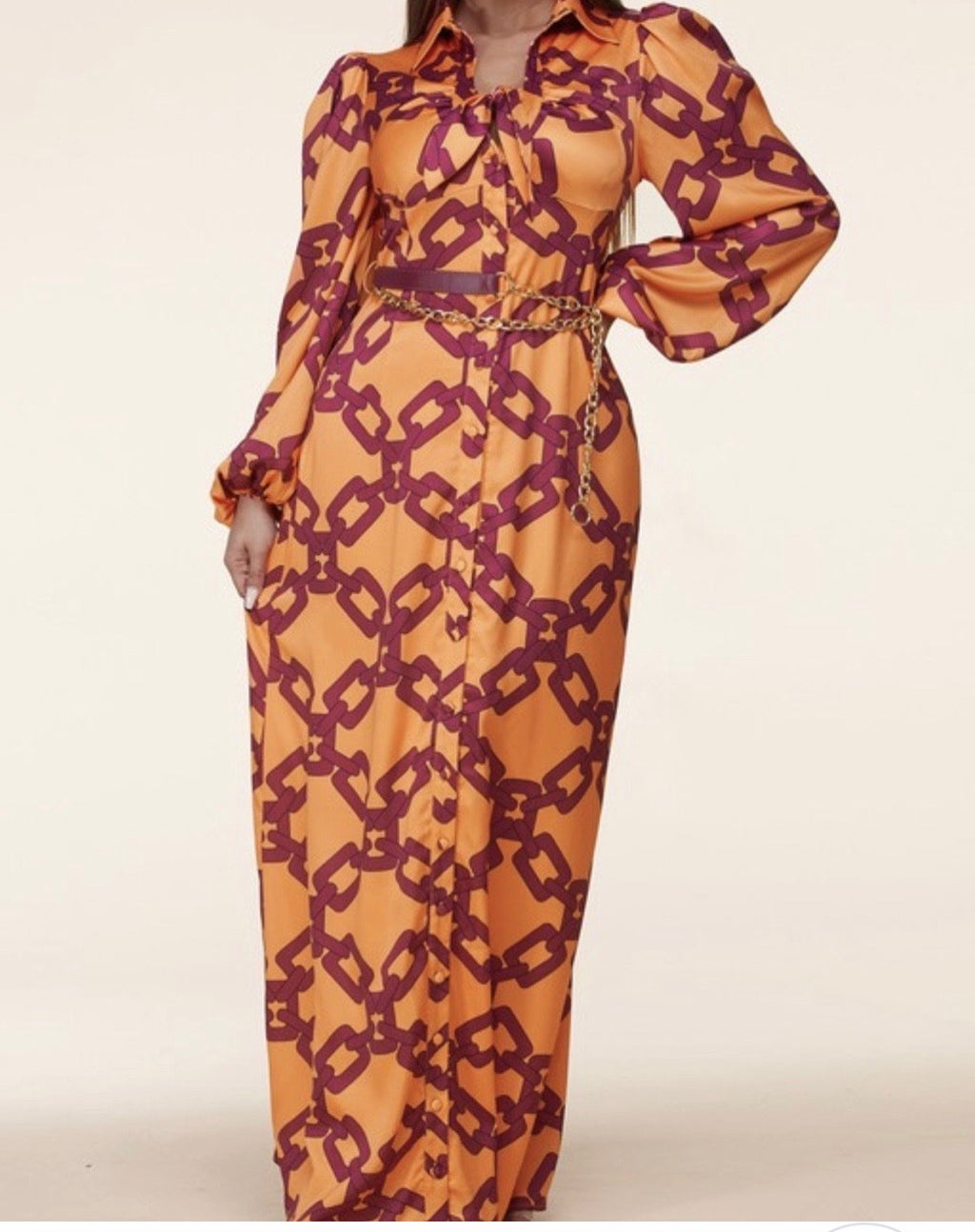 Chain Thang Maxi Dress