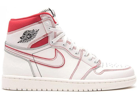 "NIKE AIR JORDAN 1 RETRO HIGH ""PHANTOM GYM RED"" (555088-160)"