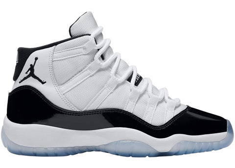 "2018 AIR JORDAN XI RETRO GS ""CONCORD"" (378037-100)"