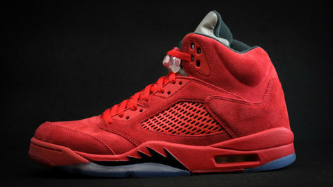 "2017 AIR JORDAN RETRO 5 ""UNIVERSITY RED"" (136027-602)"