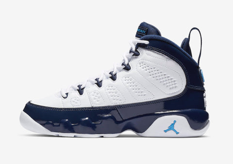 "AIR JORDAN RETRO 9 GS ""UNC"" (302370-145)"