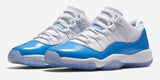 "AIR JORDAN XI LOW ""CAROLINA BLUE"" YOUTH -- (528895-106)"
