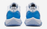 "AIR JORDAN XI LOW ""CAROLINA BLUE"" -- (528895-106)"