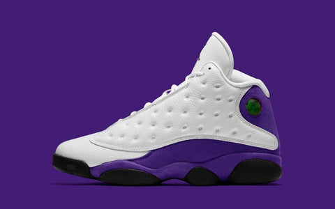 "2019 AIR JORDAN RETRO 13 ""LAKERS"" (414571-105)"