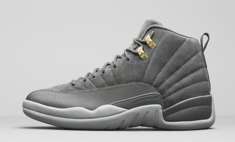 "AIR JORDAN XII RETRO ""DARK GREY"" (130690-005)"