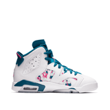 2019 AIR JORDAN 6 RETRO GS 'GREEN ABYSS' (543390-153)