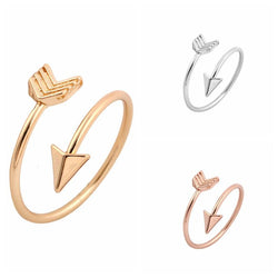 Simplistic Arrow Ring-Aspired Elegance