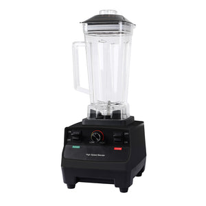 2L Commercial Blender Mixer Food Processor Juicer Smoothie Ice Crush Maker Black