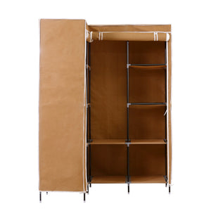 Portable Wardrobe Clothes Closet Storage Cabinet Organizer With Shelves