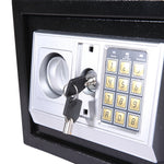8.5L Electronic Safe Digital Security Box Home Office Cash Deposit Password