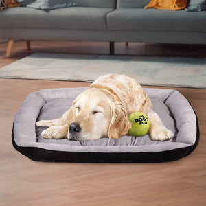 Pet Bed Dog Beds Bedding Mattress Mat Cushion Soft Pad Pads Mats L Black