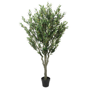 Artificial Bushy Olive Tree with Olives 180cm