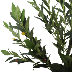 Artificial Olive Tree with Olives 125cm