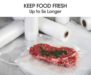 Vacuum Sealer Food Storage Saver Commercial Seal Rolls Bags 28cm Heat Roll Grade