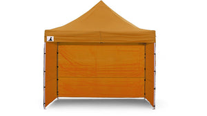 Gazebo Tent Marquee 3x3 PopUp Outdoor Wallaroo - Orange