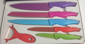 6-piece Zepter knife set colour-5KNIFE-1 piller
