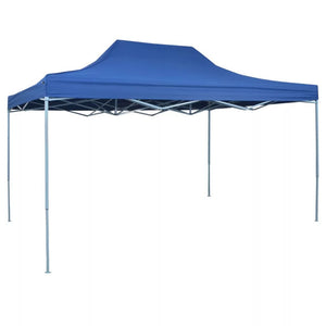 Foldable Tent Pop-Up 3x4.5 m Blue