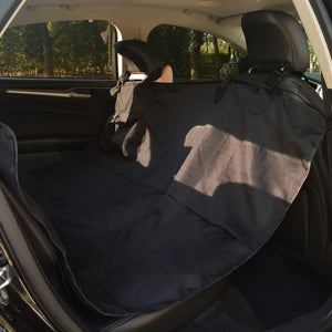 Pet Rear Car Seat Cover 148x142 cm Black