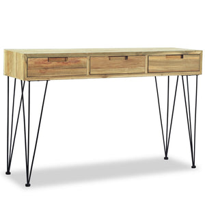 Console Table 120x35x76 cm Solid Teak