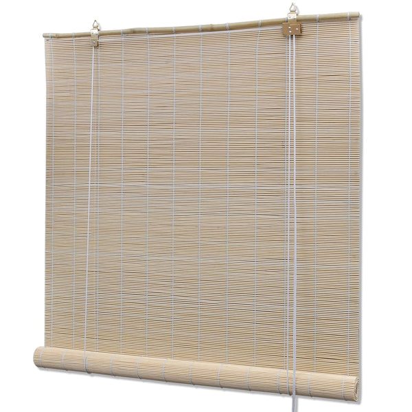Roller Blind Bamboo 150x160 cm Natural
