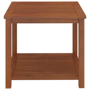 Side Table Solid Acacia Wood 45x45x45 cm