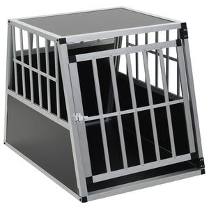 Dog Cage with Single Door 65x91x69.5 cm