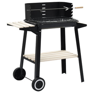 Charcoal BBQ Stand with Wheels