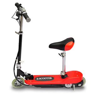 Electric Scooter with Seat 120 W Red