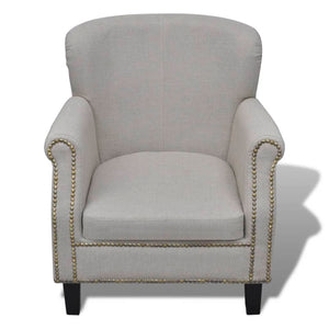 Armchair Grey Fabric