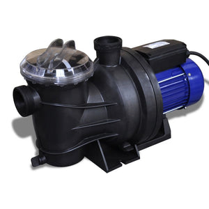 Swimming Pool Pump Electric 1200W Blue