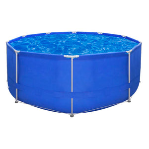 Above Ground Swimming Pool Steel Frame Round 367 x 122 cm