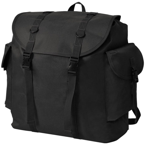 Army-Style Backpack 40 L Black