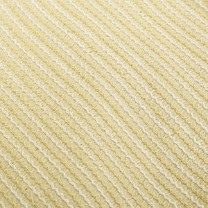 Sunshade Sail HDPE Triangular 3.6x3.6x3.6 m Beige