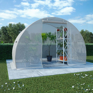 Greenhouse with Steel Foundation 4.5m? 300x150x200 cm