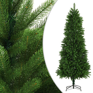 Artificial Christmas Tree Lifelike Needles 240 cm Green