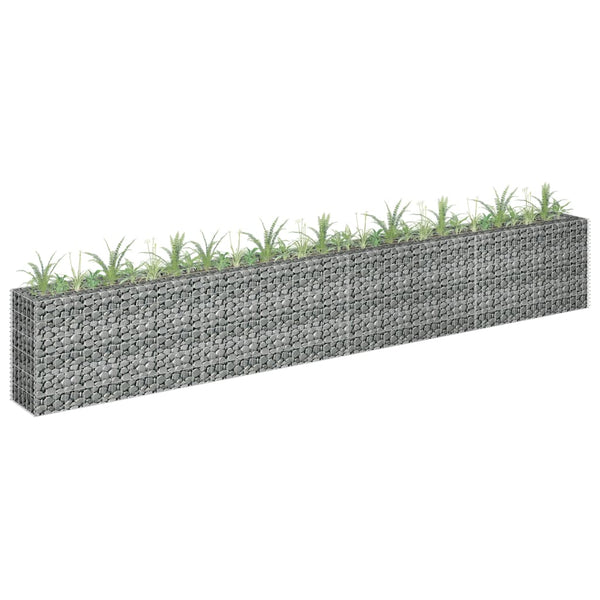 Gabion Raised Bed 360x30x60 cm