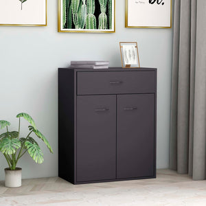 Sideboard Grey 60x30x75 cm Chipboard