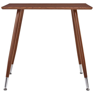 Dining Table Brown 80.5x80.5x73 cm MDF