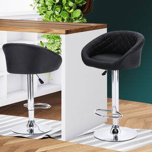 2x Bar Stools Stool Black