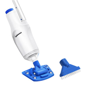 Pool Cleaner Vacuum Sucker Cordless With Pole Rechargeable