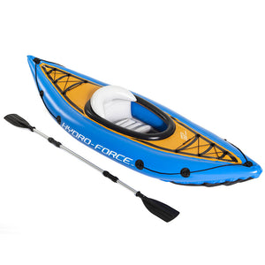 Bestway Inflatable Kayak Kayaks Fishing Boat Canoe Raft Koracle 275cm x 81cm