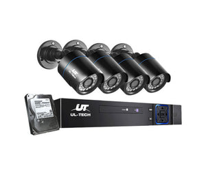 1080P Four Channel HDMI CCTV Security Camera 1 TB - Online Discounts