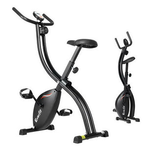 Everfit Exercise Bike X-Bike Folding Magnetic Bicycle Cycling Flywheel Fitness Machine